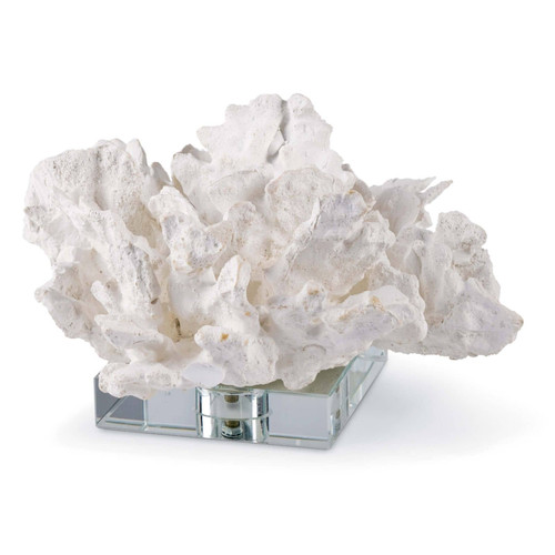 Flower Coral On Crystal Base
